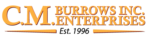 Residential Home Inspection Services, Home Energy Audits, New Jersey Licensed Home Inspector – CM Burrows, Inc. Logo